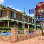 A photo of Endeavour Court Motor Inn - Golden Chain Platinum accommodation - BookinDirect