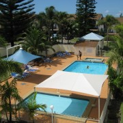 A photo of Seashells Beachfront Resort accommodation - BookinDirect